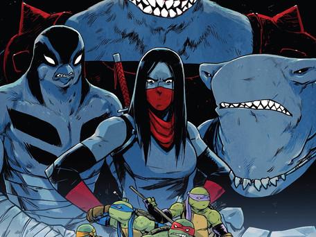Teenage Mutant Ninja Turtles #91 Review - Treading Water