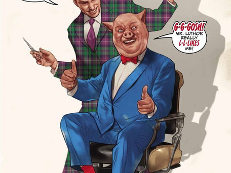 LEX LUTHOR/PORKY PIG SPECIAL #1 Remastered Review - Your Corporate Job but Worse...