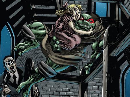 Teenage Mutant Ninja Turtles: Urban Legends #8 Review - Good Story, Atrocious Art