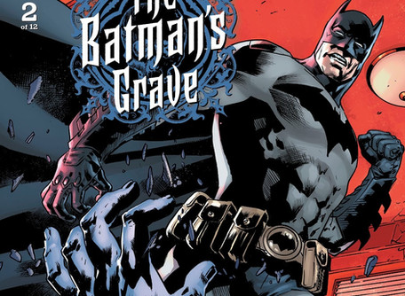 The Batman's Grave #2 Review - Batman Vs The Face-Eater