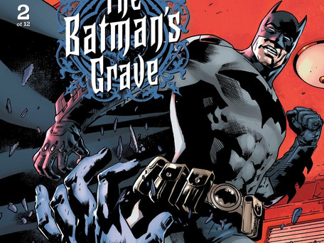 The Batman's Grave #2 Review - Batman Vs The Face-Eater