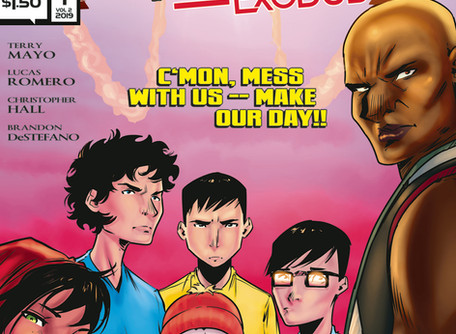 The Wicked Righteous Exodus Vol 2: #1 Review - Undiscovered Country Jr. Edition