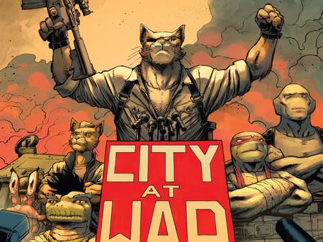 Teenage Mutant Ninja Turtles #98 Review - Mutant Terrorist's in a Half-Shell