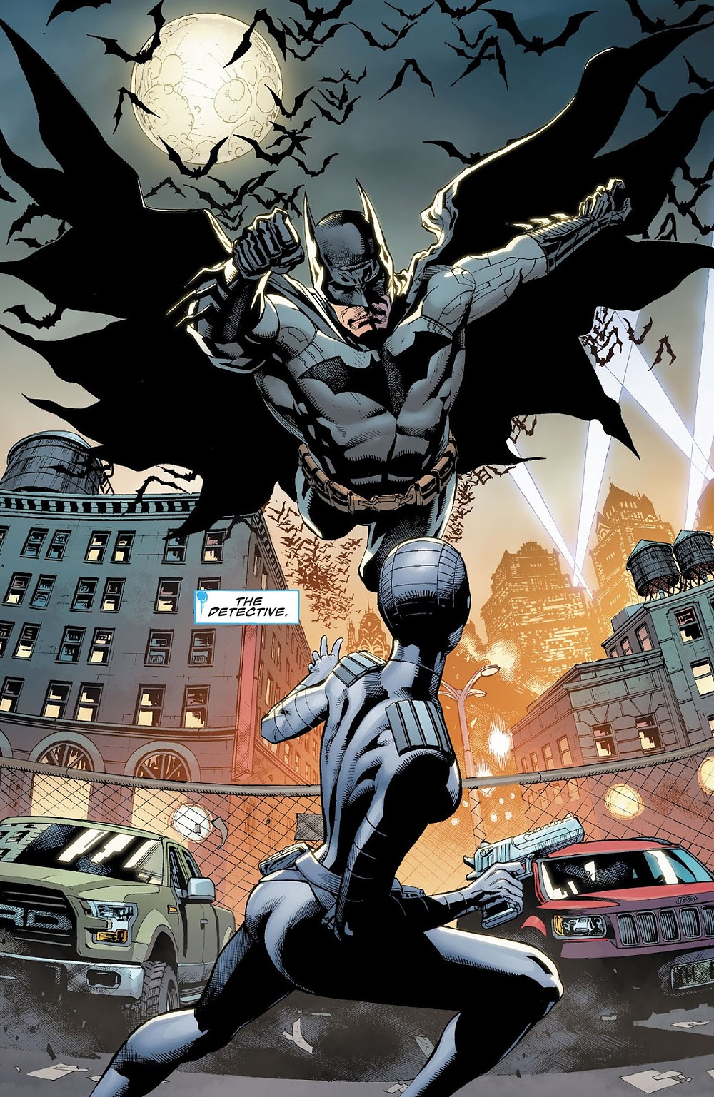 Batman V The Silencer by Jack Herbert