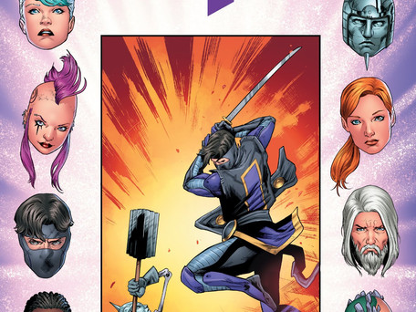 Ninja-K #9 Review - All out Action Stuff