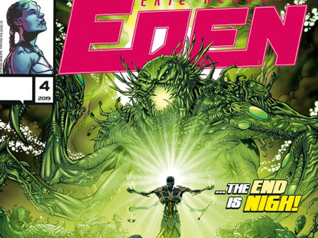 Eric Henson's: Eden #4 (of 4 ) Review - Indie Comics are the Future