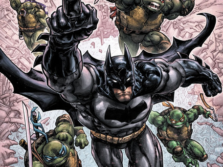 Batman/Teenage Mutant Ninja Turtles III #1 Review - DC Comics - Just buy the TMNT License Already!