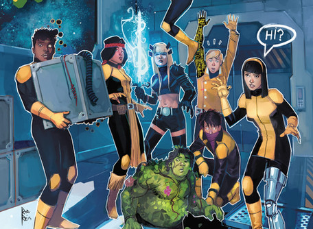 """New Mutants #2 Review - """"A Little too Irreverent"""""""