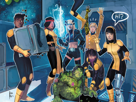 "New Mutants #2 Review - ""A Little too Irreverent"""