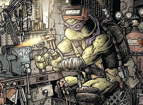 TMNT: Macro-Series #1 Donatello Review - Donatello Vs. Metalhead, Nuff Said!