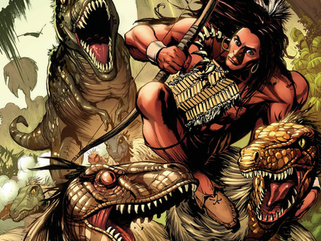 Turok #3 Review - Dynamite Delivers another underrated Gem