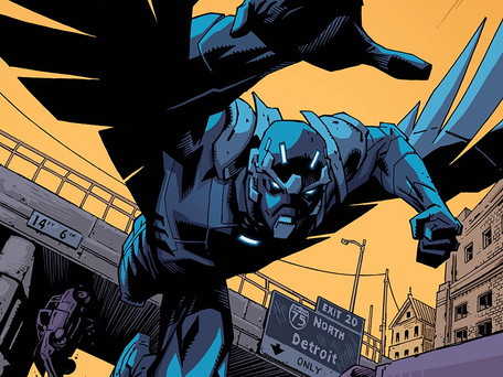Stealth #1 Review - Detroit has a New Hero (What Happens Next May Shock You...)