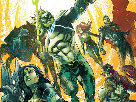 Aquaman/Justice League: Drowned Earth Special #1 Review - Cherry on top of an Avg. Event (Spoilers)