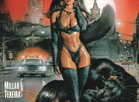 Vampirella Vs. Pantha #1 Review - They always putting Bad - B!tches against each other