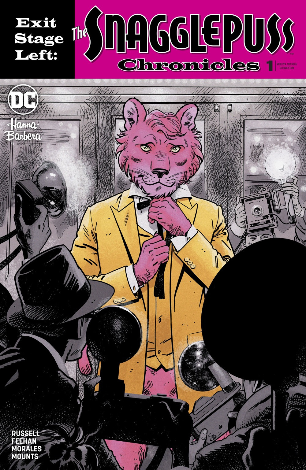 "EXIT STAGE LEFT: THE SNAGGLEPUSS CHRONICLES #1 Variant by Evan ""Doc"" Shaner"