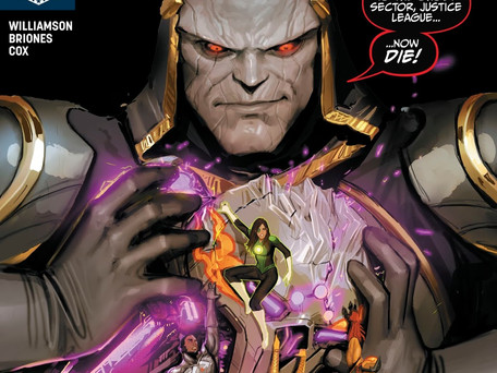 Justice League Odyssey #3 Review Aggressively Average