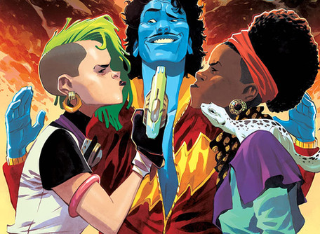 Space Bandits #5 (of 5) - Review - The Future's so Bright, I Gotta Wear Shades