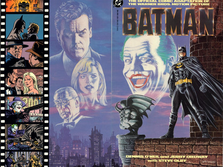 Batman 1989 Movie Adaptation - Deluxe Edition Review - Master Class is in session