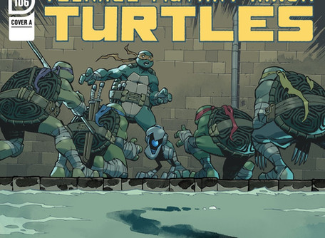 Teenage Mutant Ninja Turtles #106 Review - It: Chapter Three but with Mutants