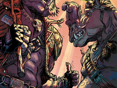 TMNT: Bebop & Rocksteady Hit the Road #3 Review/Rumination