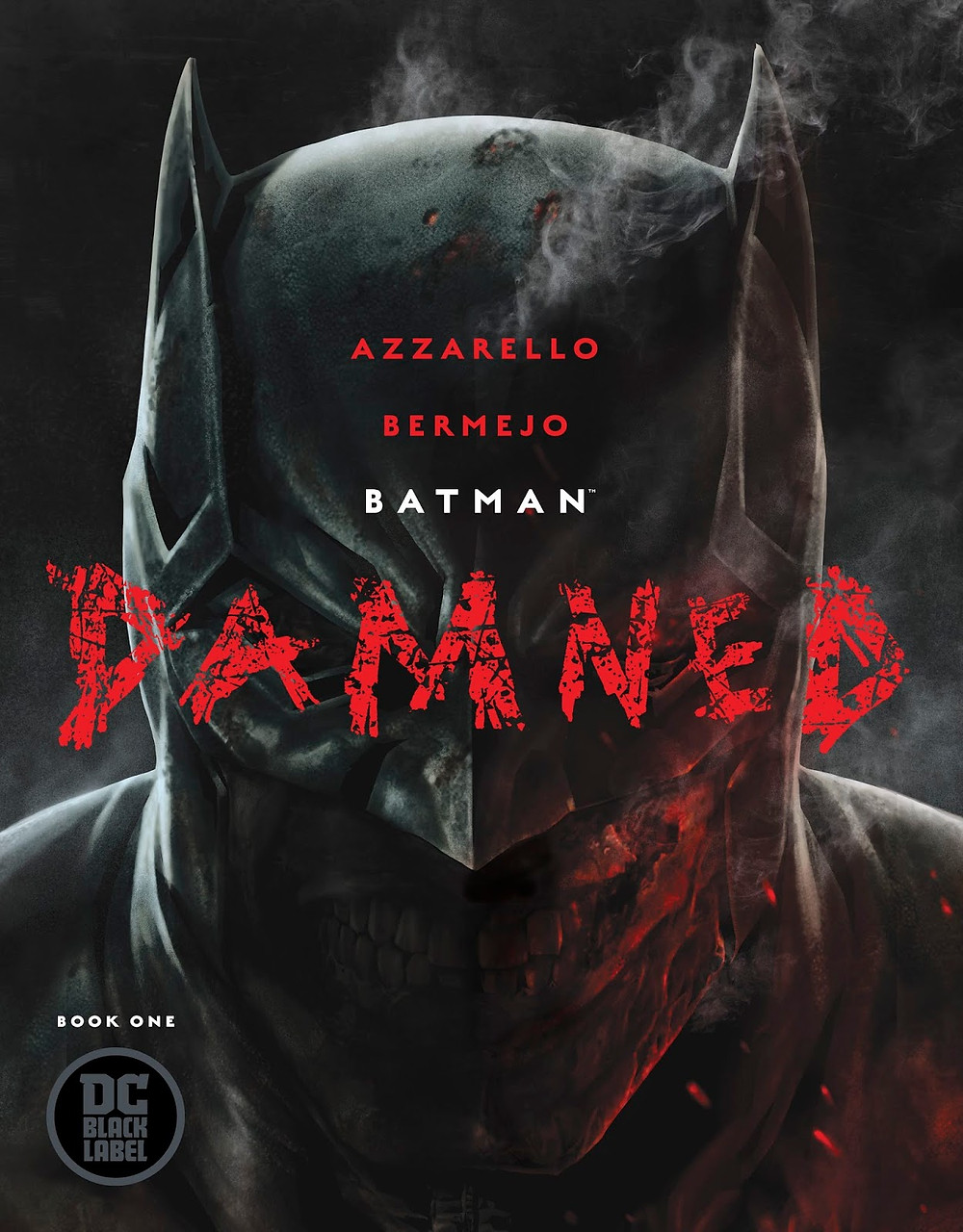 Batman Damned: Book one Cover by Lee Bermejo