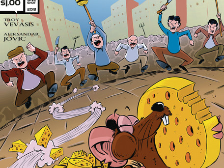 Cyko Ko! #2 (of 3) & Baron Rat (One-Shot) Review - Hanna Barbera Would be Proud