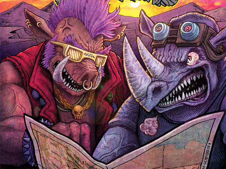 TMNT: Bebop & Rocksteady Hit the Road #4 Review/Rumination