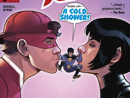 Wonder Twins #4 Review - Wonder Twins Powers Activate! Form of...Cuck?