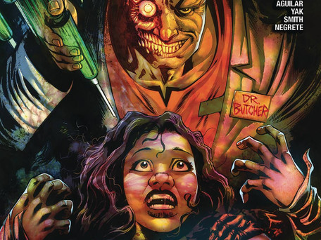 Leave on the Light #3 Advance Review - Hell Hath no Fury
