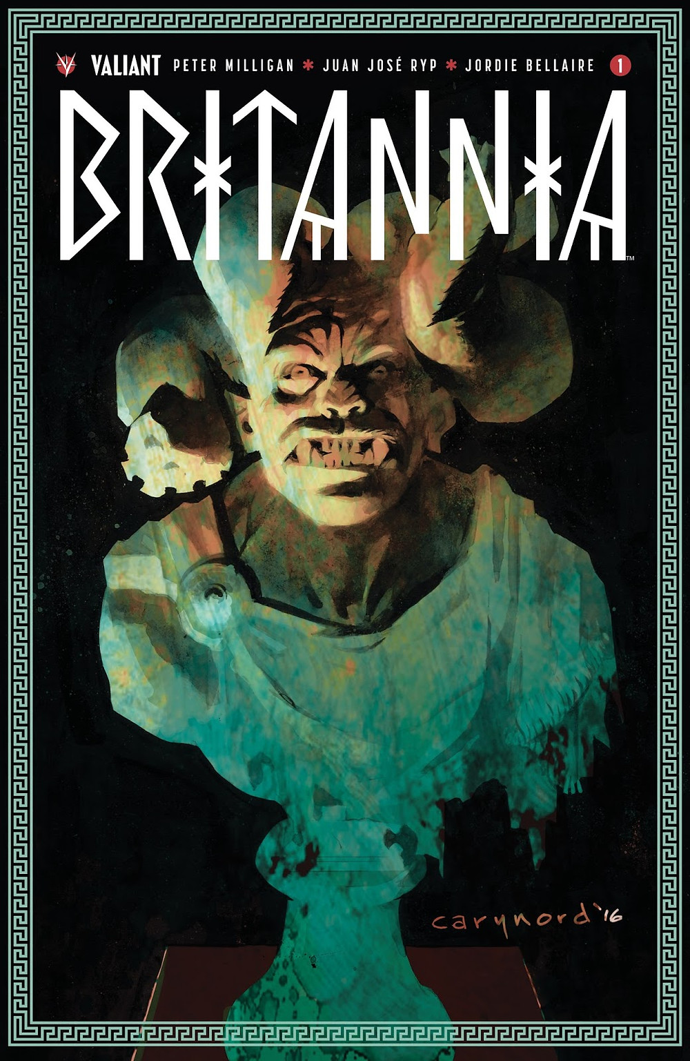 Britannia #1 cover by Cary Nord