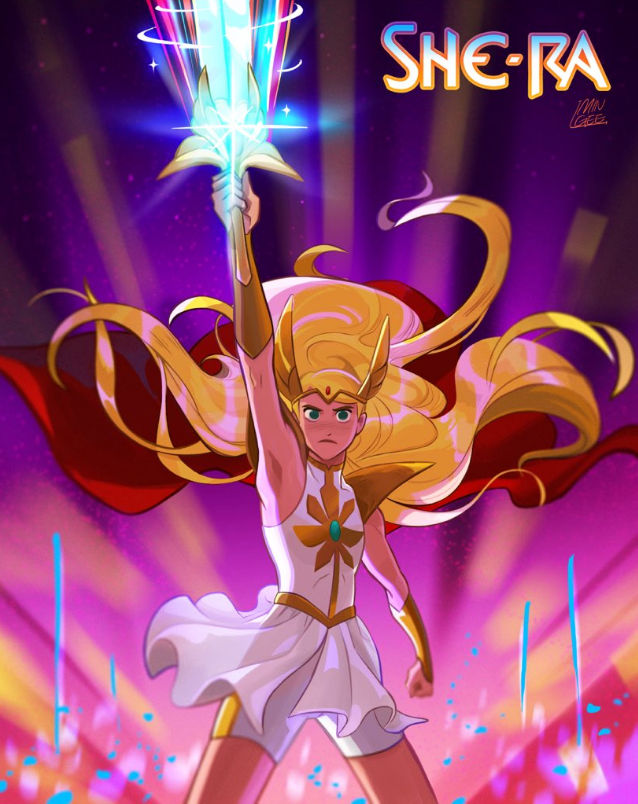 She-Ra by Jellypuffer