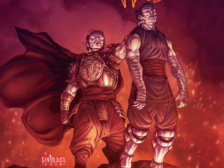 TMNT: Shredder in Hell #3 review                          The Emperor has no clothes