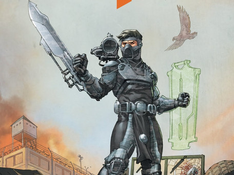 Ninja-K#10 Review - Ninja-K gets his Winter Soldier