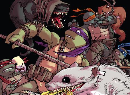 Teenage Mutant Ninja Turtles #103 Review - Raphael is a Dick