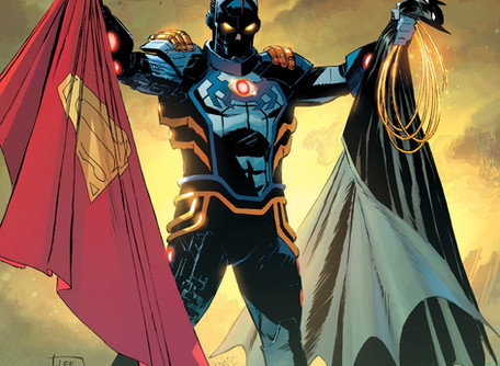 Tales From The Dark Multiverse: Infinite Crisis Review - What if Blue Beetle was a Badass?