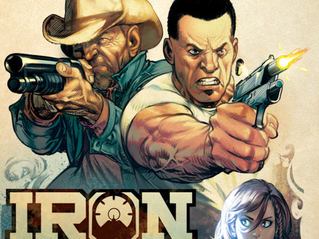 Iron Sights Review - Comics For Guys That Like Comics