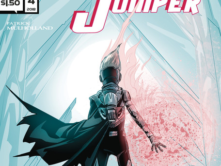 Zero Jumper #4 (of 4) Review - A little bundle of Awesomeness!!!