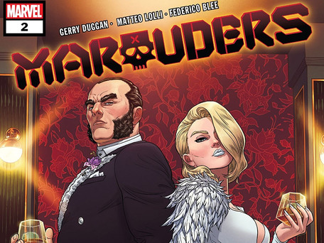 Marauders #2 Review - Right Series, Wrong Lead (spoilers)