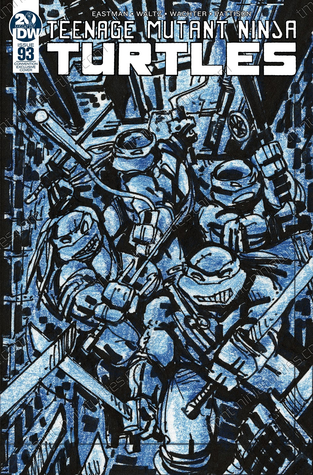 Kevin Eastman IDW convention exclusive