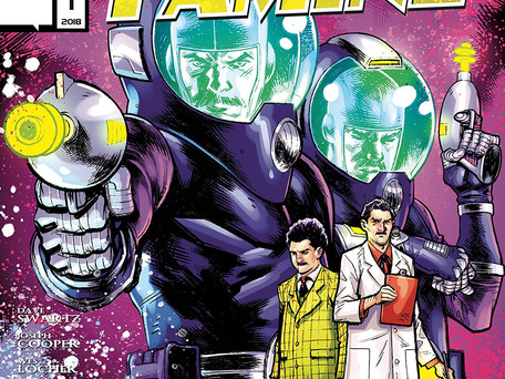Feast or Famine #1 (of 3) Review - Challengers of the Fantastic Tesla and Einstein Cut Loose
