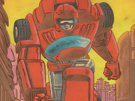Go-Bots #4  Review - Planet of The Go-Bots
