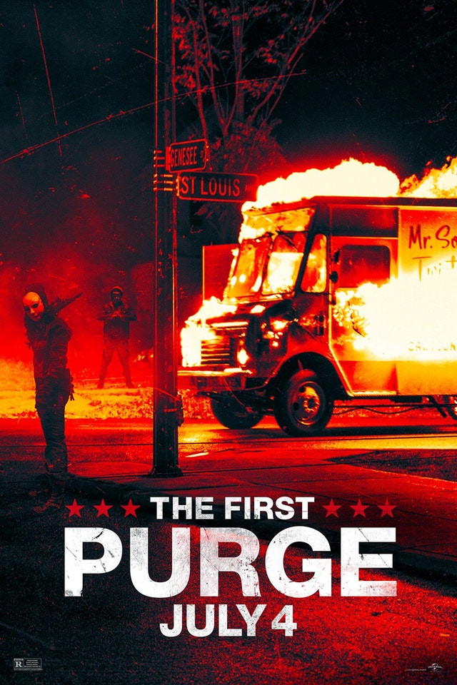 The First Purge Promotional Poster