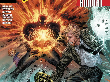 The Curse of Brimstone Annual #1 Review - Good comic but feels like a rerun