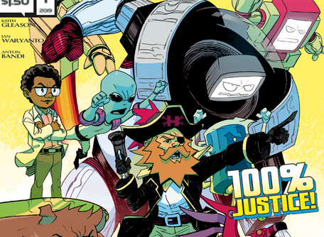 "The Mighty Mascots #1 (of 3) Review                            ""After These Messages, we'll"