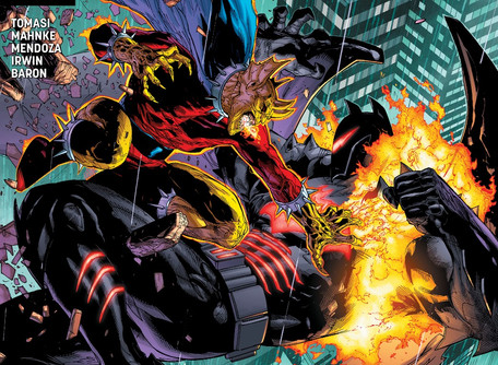 Detective Comics #998 Review - The Demon and The Hellbat
