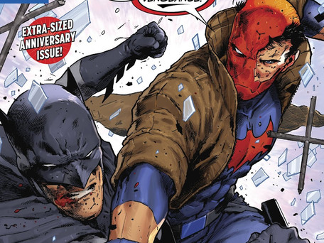 Red Hood & The Outlaws # 25 Remastered Review - Batman V Red Hood, 5 Pages of Excellence