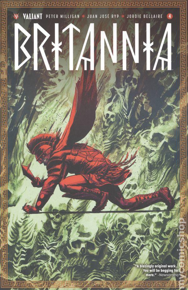 Britannia 4, cover by Adam Gorham