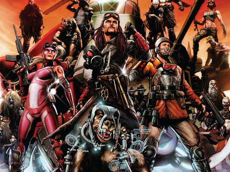 Wacky Raceland #1 (of 5) Rumination/Review - Hanna Barbera or Twisted Metal Meets Mad Max