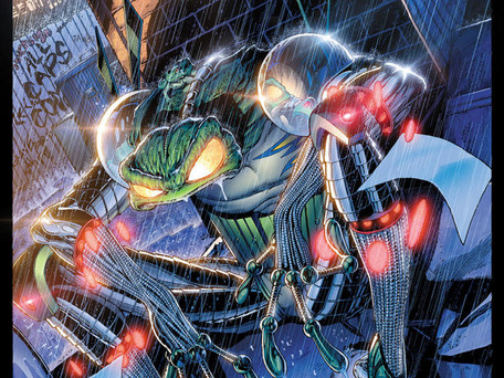 Cyberfrog: Unforgettable Tales #1 Review - Ethan Van Sciver's Take on Teenage Mutant Ninja Turtles