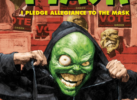 I Pledge Allegiance To The Mask #1 Review - Time for a Little Ultra-Violence